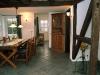 Ferienhaus Zingst Essbereich (Blick zur Küche)