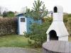 Ferienhaus Zingst Garten (Kamingrill, Schuppen)